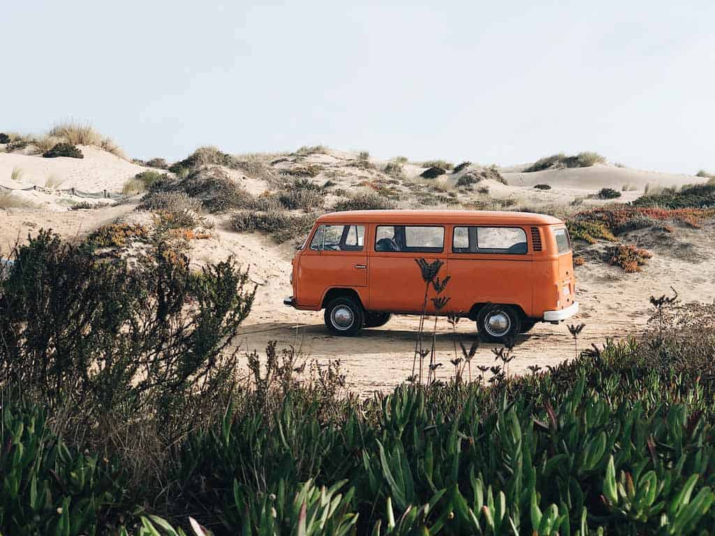 Orange Van
