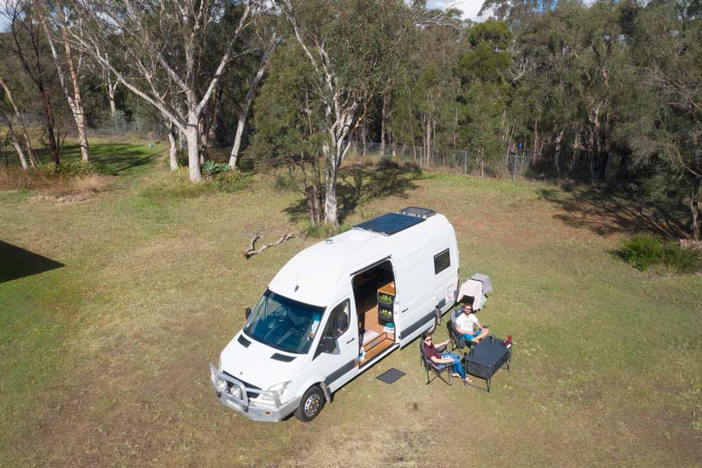 Marlee Drone Buying a Campervan in Australia