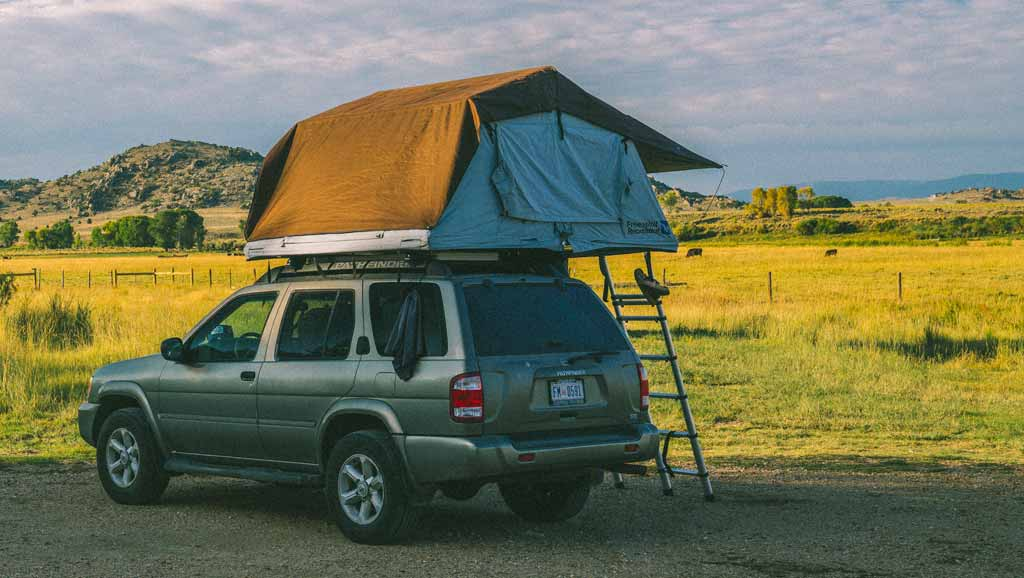 Rooftop Tent Camping