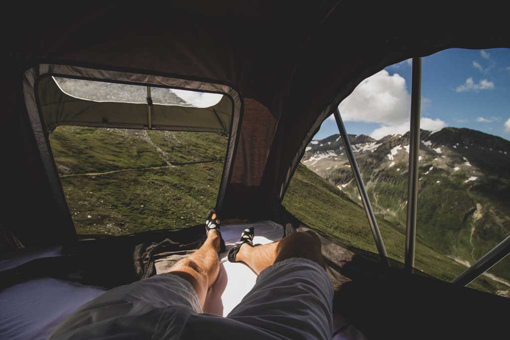 Views from the best rooftop tent