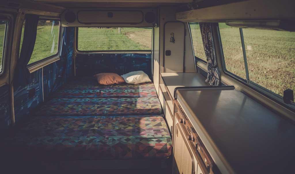 convertible campervan bed