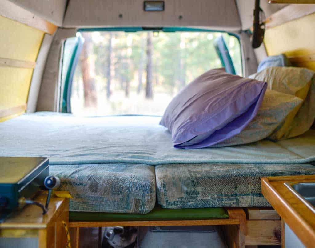 platform campervan beds