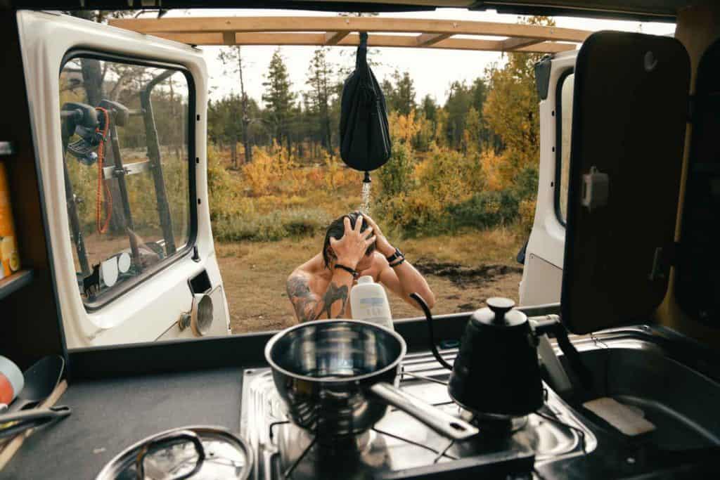 Best Campervan Shower Options