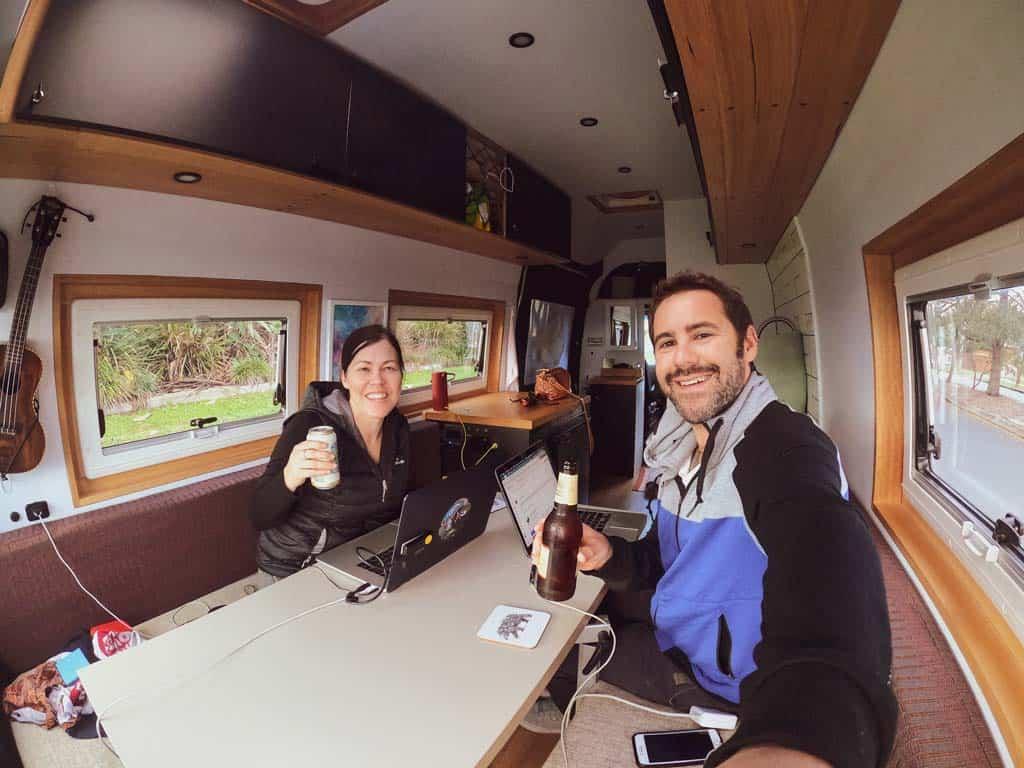 Us Living in a Van