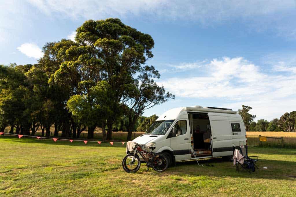 Free Camping Setup