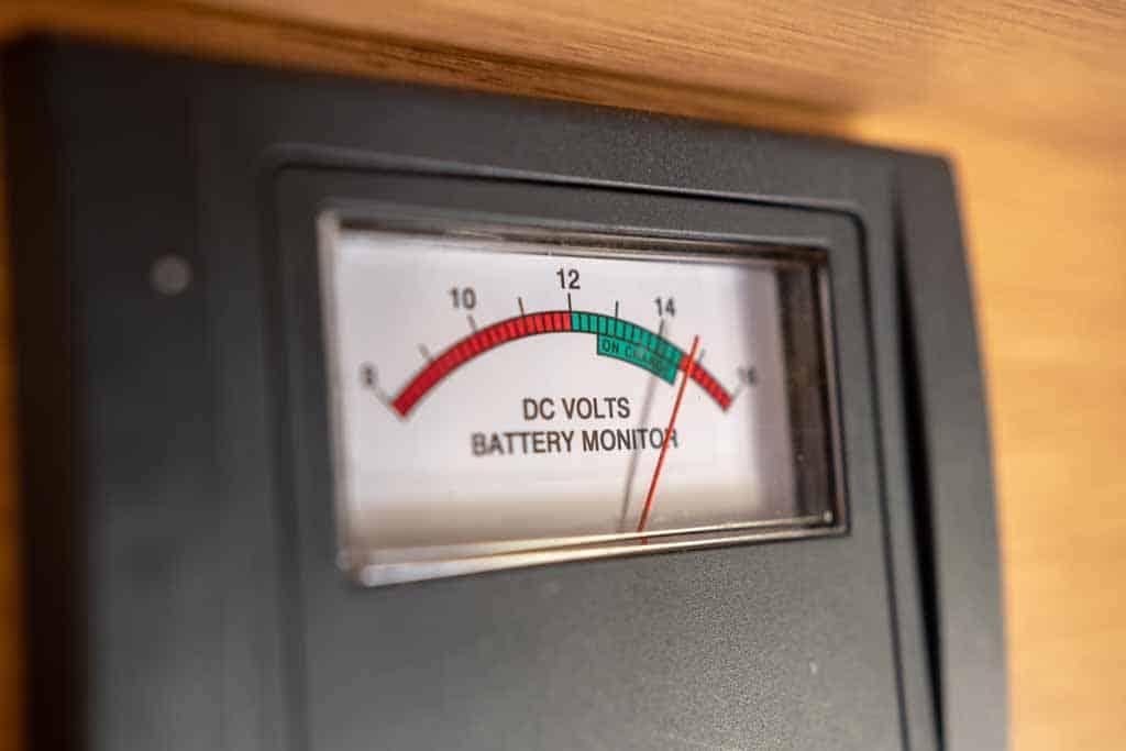 Analog RV Battery Monitor