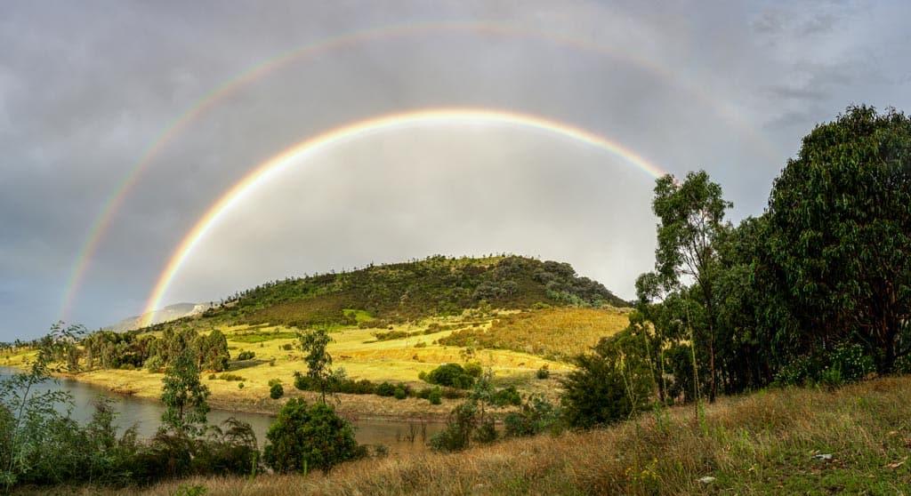 Rainbow Lake Blowering