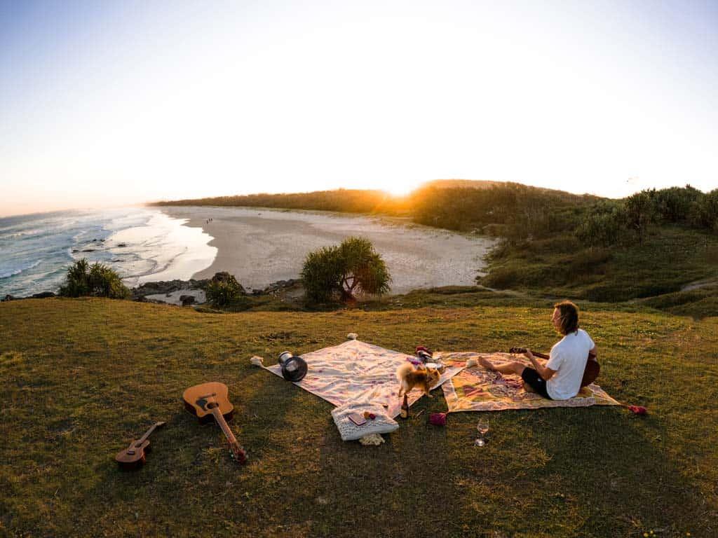 Sunset Session Byron Bay
