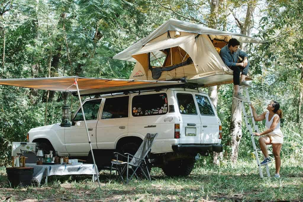 Rooftop Tent Car Camping Trips