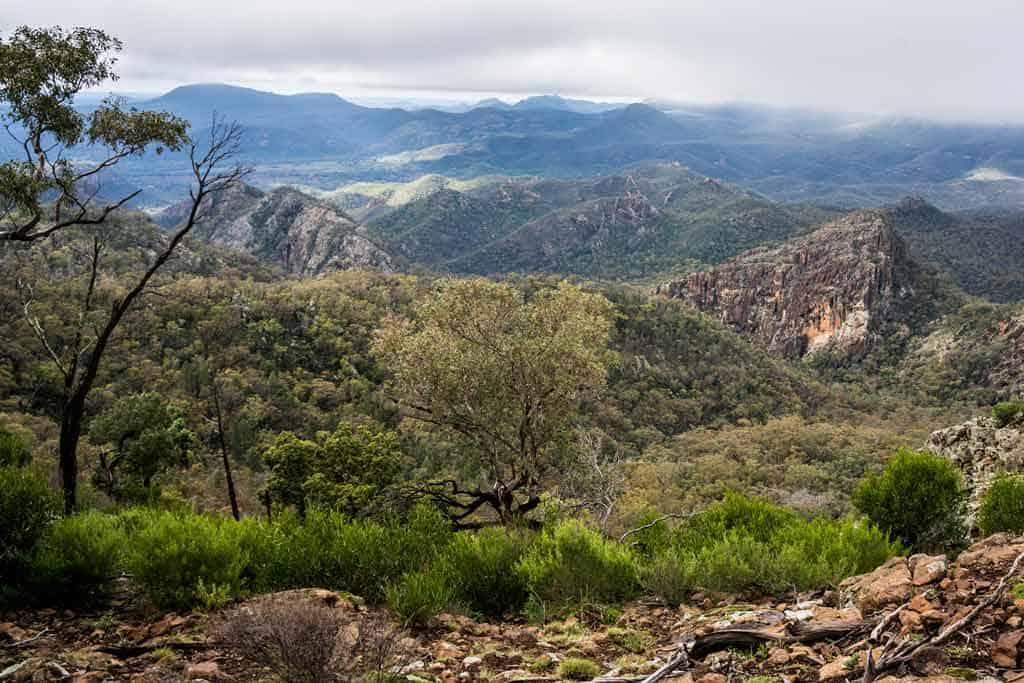 Views Warrumbungle National Park