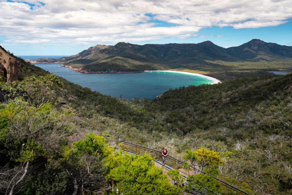 Wineglass Bay Lookout view