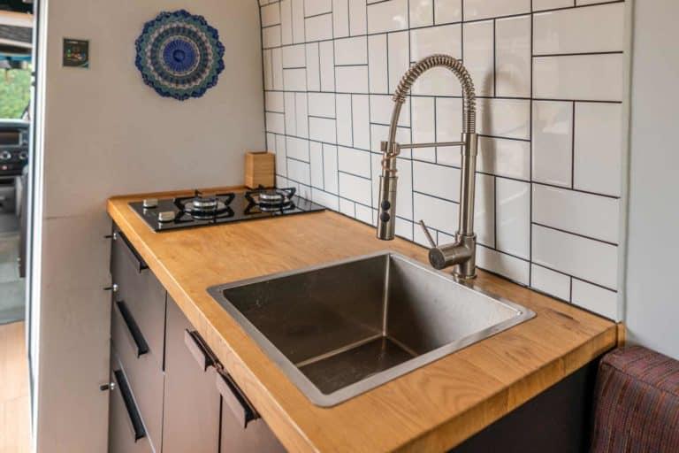 Campervan Sink Feature