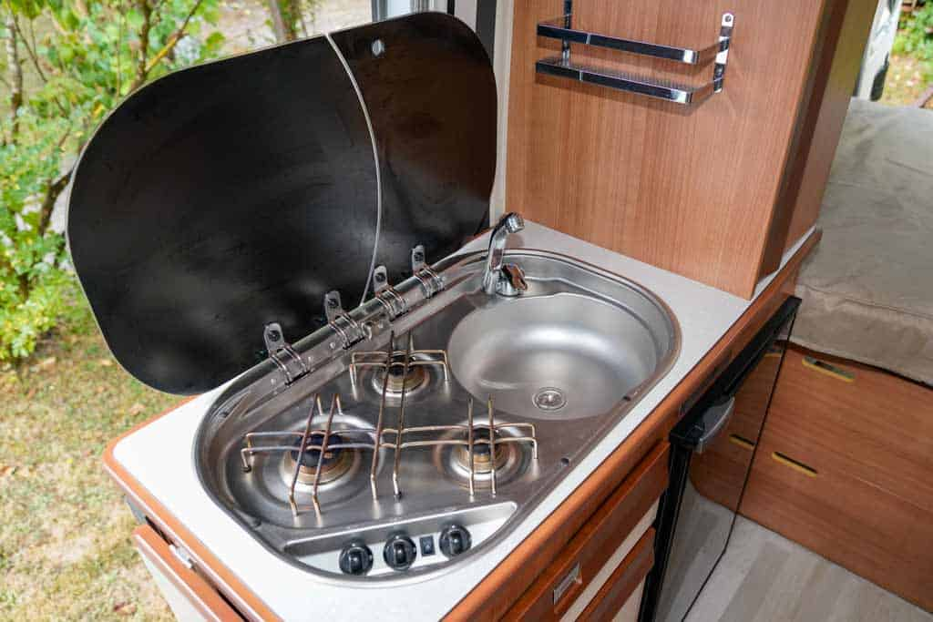 Sink and Cooker Combo